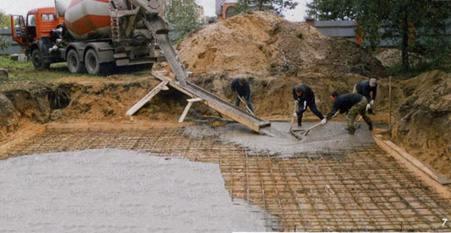 бетон в Чехове
